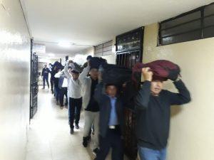 salida de estudiantes organizadamente